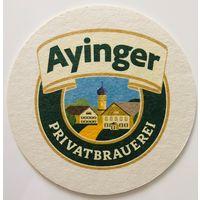 Подставка под пиво Ayinger /Германия/-2