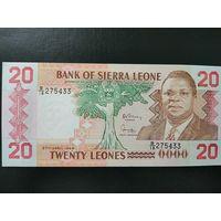 Сьерра - Леоне 20 леоне 1988 UNC