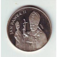 Польша. 1000 злотых 1982 г. серебро. Иоан Павел II. Проба. Цена снижена !