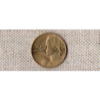 Югославия 10 динаров 1955/(Oct)