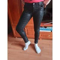 Брюки джинсы с блеском на девочку до 10 лет