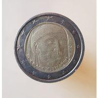 2 евро Италия 2013 года, Джованни Бокаччо
