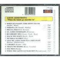 LOUIS ARMSTRONG - When the Saints Go Marchin'in (аудио CD) НОВЫЙ ЗАПЕЧАТАН