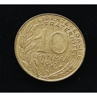 10 сантимов 1997 Франция #02