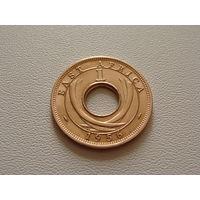 Британская Восточная Африка.  1 цент 1956 год  KM#35