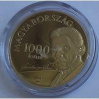 Венгрия 200 форинтов 2013 года. Состояние UNC!
