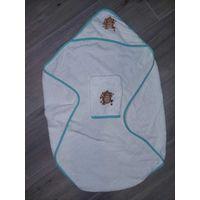 Полотенце с капюшоном+мочалка