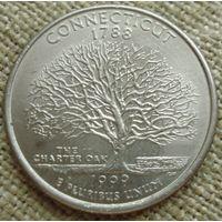 25 центов 1999 США - Коннектикут