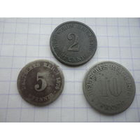 Германия Империя 1876 г. набор