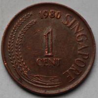 1 цент 1980 Сингапур