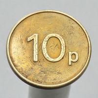 Британский жетон торговых автоматов 10 p JPM