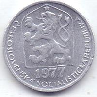 Чехословпкия, 5 геллеров 1977 года.