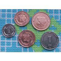 Босния и Герцеговина 5, 10, 20, 50 феннингов, 1 марка. UNC. Гарантия низкой цены!