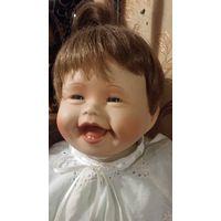 Кукла из коллекционная Малышка Патрисия.My First Tooth.Винтаж.Фарфор.