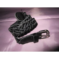 Ремешок кожаный плетеный (детский)