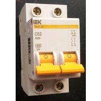 Выключатель автоматический (автомат) IEK ВА 47-29 C63, 400 В.