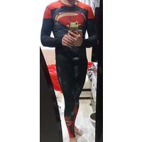 Костюм супермена (одет буквально два раза)48-50размер