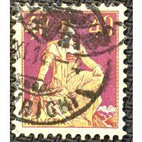 ЦІКАВІЦЬ АБМЕН! 1909, Гельвецыя з мечом, 40 рапэн