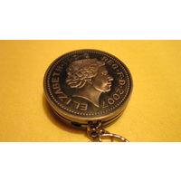 Зажигалка для нумизмата в виде монеты металл