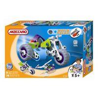 "Конструктор Meccano ""Мотоцикл"",+4, 3 модели"