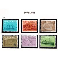 Суринам-1977,(Мих.788-793) **  , Флот, корабли