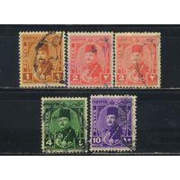 Египет Кор 1944 Фарук Стандарт #268-9,271,273