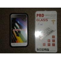 Чехол для телефона Samsung GalaxyJ1(2016) J120 и защитная пленка на экран