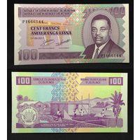 Банкноты мира. Бурунди, 100 франков