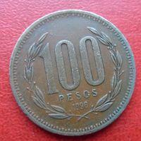 100 песо Чили 1996 года -из коллекции