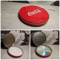 Органайзер для дисков Coca-cola. Металлический
