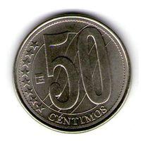 Венесуэла 50 сентимос 2007 года.