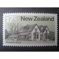 Новая Зеландия 1980 сельская усадьба