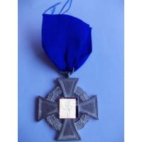 Медаль за верную службу, крест 25 лет выслуги, 3 рейх,Германия (оригинал).Аукцион с 1.00 руб.