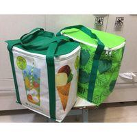 Вместительная изотермическая сумка-холодильник, термосумка, сумка-термос