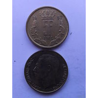 Люксембург 5 ФРАНКОВ 1987г.  распродажа