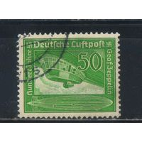 Германия Рейх 1938 Граф фон  Цеппелин 100 летие Дирижабль Гинденбург Z 129 #670