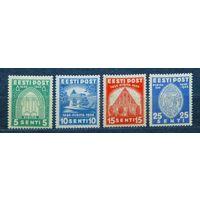 Эстония 1936 \570в\estonia  Mi120-123 MNH