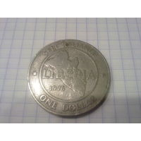 Либерия 1 доллар 1976
