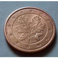 2 евроцента, Германия 2005 J