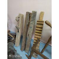 Утюг деревянный