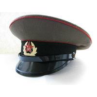 Фуражка сержантов и солдат сухопутных войск ВС СССР. 1984, 56 размер