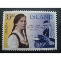 Исландия 1996 Европа