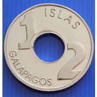 Галапагосские острова. 1/2 пиеза 2008 год Unusual