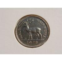 Маврикий. 1/2 рупии 1978 год КМ#37