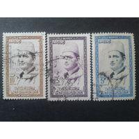 Марокко 1956-7 Мухамед 5, вначале султан, потом король