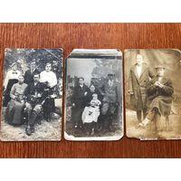 3 фото Западная Беларусь до 1939, открыточный формат, трубка, стиль