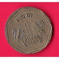 42-08 Индия, 1 рупия 1985 г.