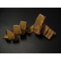 Узкий металлизированный галун СССР (цена за 15 см)