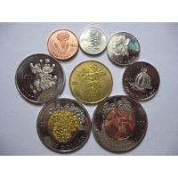 Комплект монет острова Бонэйр