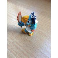 Киндер фигурка Попугай с зеркалом серия Попугаи-пираты